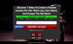 passive income, work less, earn more
