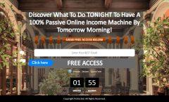 passive online income, passive income, work less, earn more