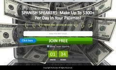 spanish speakers, passive income, work less, earn more