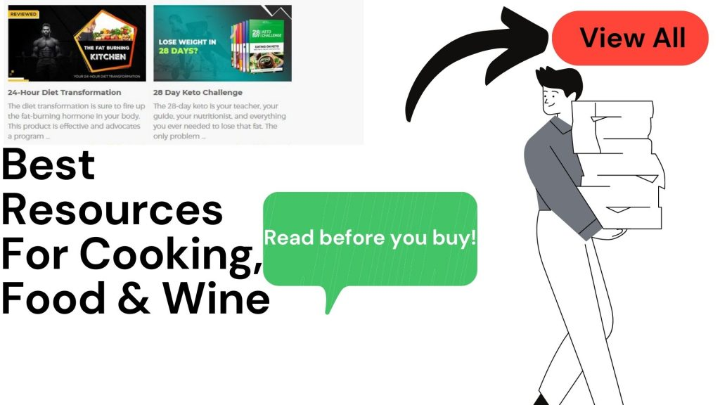 Best Resources For Cooking, Food & Wine
