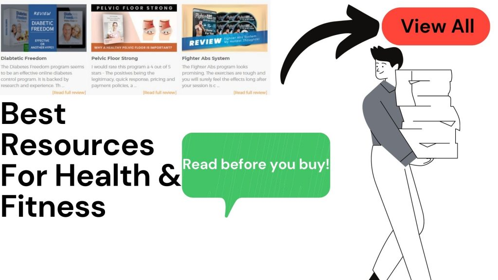 Best Resources For Health & Fitness