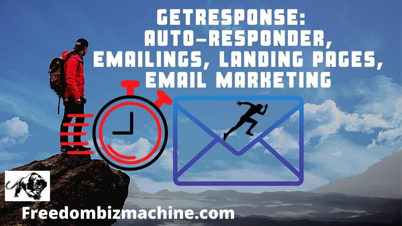 GetResponse Auto-Responder, Emailings, Landing Pages, Email Marketing
