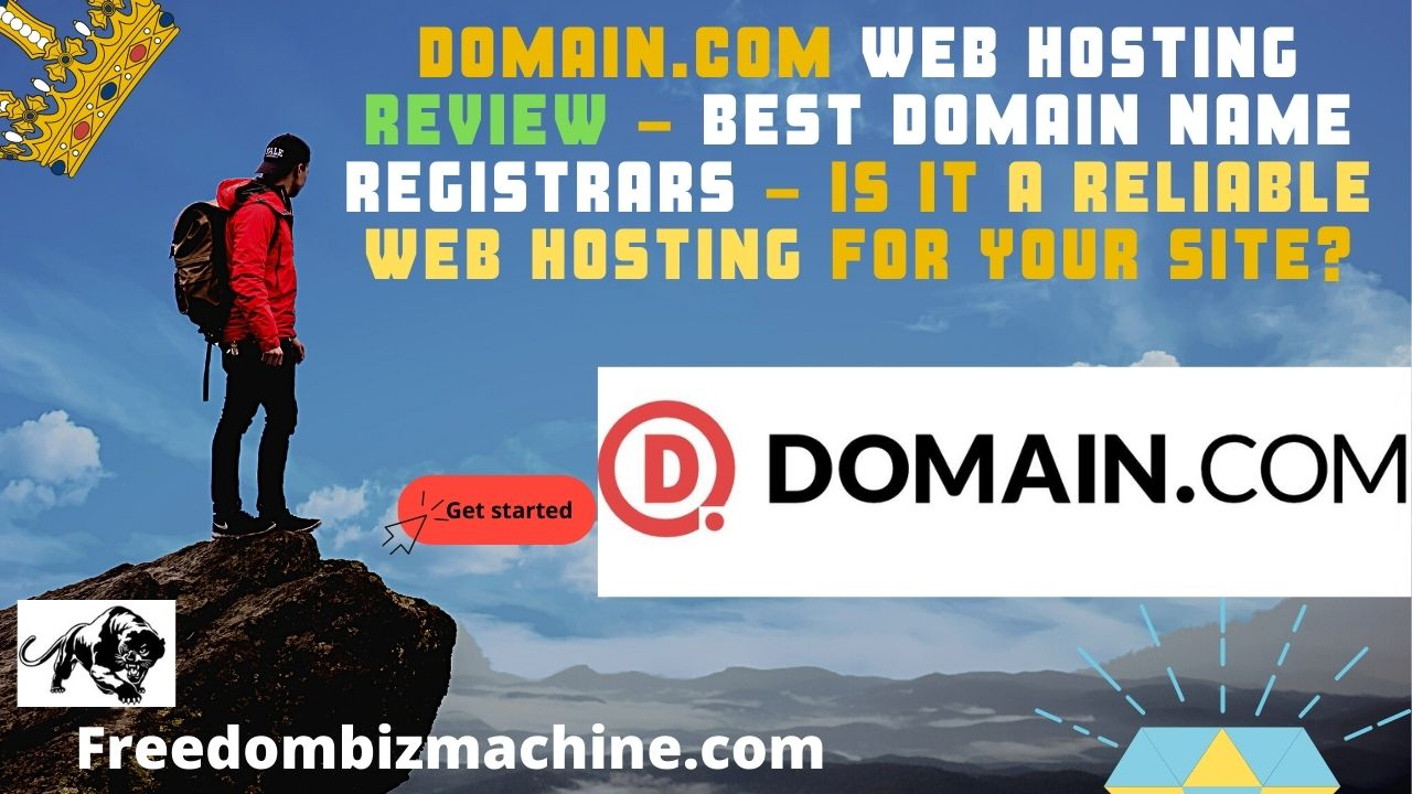 Domain.com Web Hosting Review - Best Domain Name Registrars - Is it a reliable web hosting for your site