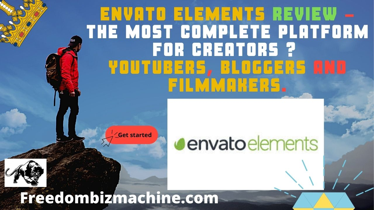 Envato Elements Review - THE MOST COMPLETE PLATFORM FOR CREATORS Youtubers, Bloggers and Filmmakers