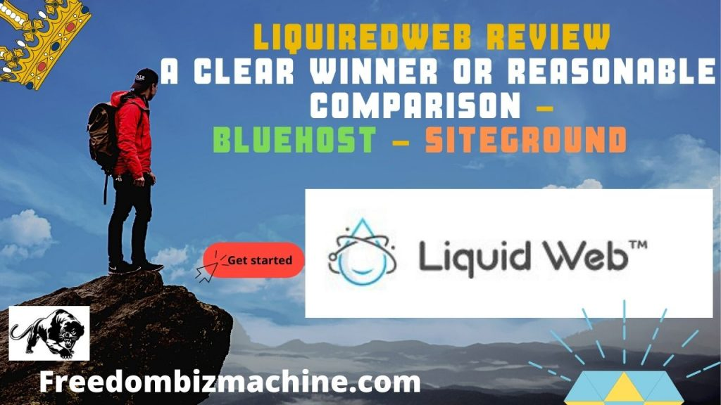Liquiredweb review a clear winner or reasonable comparison - Bluehost - Siteground