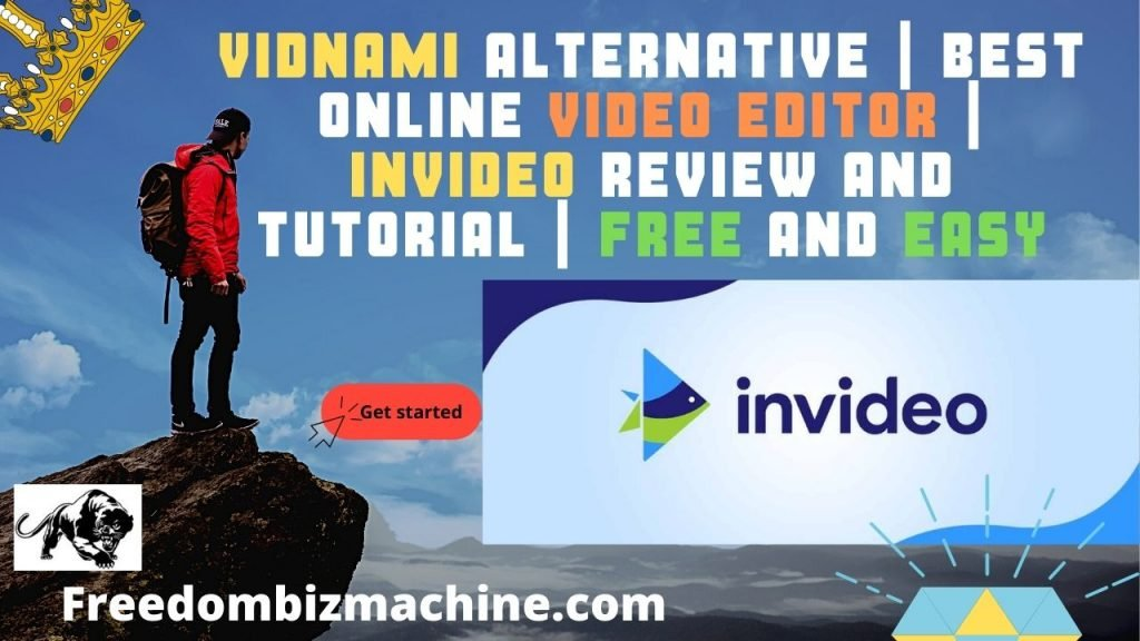 Vidnami Alternative | Best Online Video Editor | Invideo Review and Tutorial | Free and Easy 25 % DISCOUNT